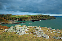 Port Mora and Port Kale from the Southern Upland Way near Portpatrick, Dumfries and Galloway