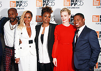 NEW YORK, NY October 12, 2017Rob Morgan, Mary J. Blige, Dee Rees, Carey Mulligan, Jason Mitchel attend 55th NYFF present  premiere of Mudbound  at Alice Tully Hall in New York October 12,  2017. Credit:RW/MediaPunch