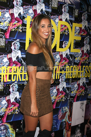 LOS ANGELES - SEPTEMBER 23: Katie Austin at the KODE Magazine October 2015 Issue Party at the The Well on September 23, 2015 in Los Angeles, CA . Credit: David Edwards/MediaPunch