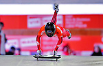 17 December 2010: Sarah Reid slides for Canada, finishing 13th for the day at the Viessmann FIBT Skeleton World Cup Championships in Lake Placid, New York, USA. Mandatory Credit: Ed Wolfstein Photo