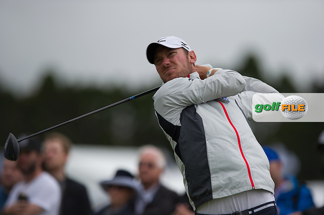 Chris Wood (ENG) during round 3 at the ISPS Handa World Cup of Golf, from Kingston heath Golf Club, Melbourne Australia. 26/11/2016<br /> Picture: Golffile   Anthony Powter<br /> <br /> <br /> All photo usage must carry mandatory copyright credit (&copy; Golffile   Anthony Powter)