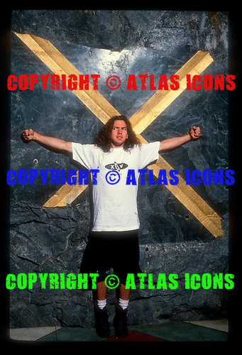 Pearl Jam; Studio Session; 1991<br /> Photo Credit: Michael Johansson /AtlasIcons.com