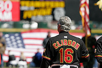 Rochester Red Wings Stan Cliburn during an International League game at Frontier Field on April 8, 2006 in Rochester, New York.  (Mike Janes/Four Seam Images)