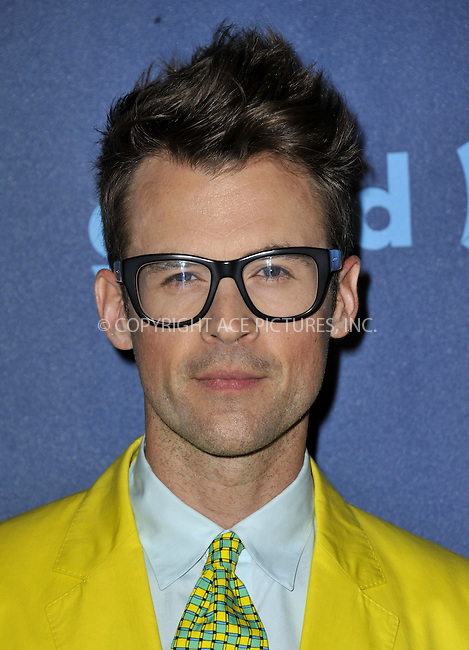 WWW.ACEPIXS.COM......April 20, 2013, Los Angeles, CA.....Brad Goreski arriving at the 24th Annual GLAAD Media Awards held at the JW Marriott Los Angeles at L.A. LIVE on April 20, 2013 in Los Angeles, California. ..........By Line: Peter West/ACE Pictures....ACE Pictures, Inc..Tel: 646 769 0430..Email: info@acepixs.com