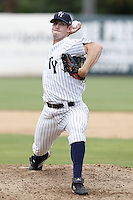 July 10, 2009:  Pitcher Tim Norton of the Tampa Yankees during a game at George M. Steinbrenner Field in Tampa, FL.  Tampa is the Florida State League High-A affiliate of the New York Yankees.  Photo By Mike Janes/Four Seam Images