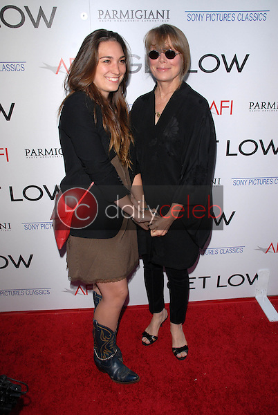 """Sissy Spacek and daughter Madison Fisk<br /> at the premiere of """"Get Low,"""" Academy of Motion Picture Arts and Sciences, Los Angeles, CA. 07-27-10<br /> David Edwards/DailyCeleb.com 818-249-4998"""