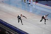 SPEEDSKATING: SOCHI: Adler Arena, 24-03-2013, Essent ISU World Championship Single Distances, Day 4, 500m Men, Jamie Gregg (CAN), Gilmore Junio (CAN), © Martin de Jong