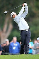February 22, 2015: James Hahn during the final round of the Northern Trust Open. Played at Riviera Country Club, Pacific Palisades, CA.