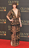 Leanne Cope at the Olivier Awards 2018, Royal Albert Hall, Kensington Gore, London, England, UK, on Sunday 08 April 2018.<br /> CAP/CAN<br /> &copy;CAN/Capital Pictures<br /> CAP/CAN<br /> &copy;CAN/Capital Pictures