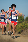 October 29, 2011; Belmont, CA, USA; Gonzaga Bulldogs runner Nick Roche (52) competes during the WCC Cross Country Championships at Crystal Springs.
