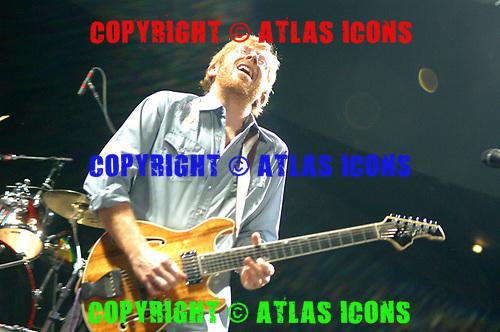 Trey Anastasio; 2006; Performs at Madison Square Garden;<br /> Photo Credit: Eddie Malluk/Atlasicons.com