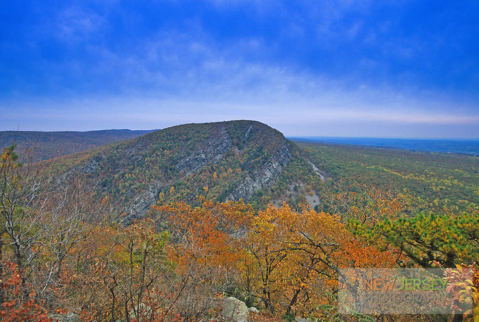 Mount Tammany, Elevation 1527 ft. Delaware Water Gap, New Jersey