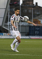 Lewis Guy in the St Mirren v St Johnstone Clydesdale Bank Scottish Premier League match played at St Mirren Park, Paisley on 8.12.12.