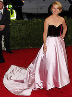 "NEW YORK CITY, NY, USA - MAY 05: Claire Danes at the ""Charles James: Beyond Fashion"" Costume Institute Gala held at the Metropolitan Museum of Art on May 5, 2014 in New York City, New York, United States. (Photo by Xavier Collin/Celebrity Monitor)"