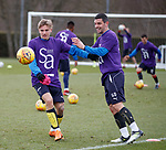 06.04.2018 Rangers training:<br /> Jason Cummings and Graham Dorrans