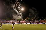 Club Nacional de Futbol, Copa Libertadores 2007. Parque Central, Montevideo, Uruguay. Photo by Quqiue Kierszenbaum.