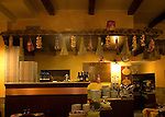 Interior, II Bersagliere Restaurant, Rome, Italy