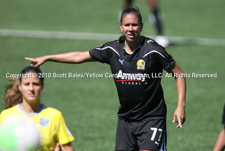 26 September 2010: FC Gold Pride's Shannon Boxx. FC Gold Pride defeated the Philadelphia Independence 4-0 at Pioneer Stadium in Heyward, California in the Women's Professional Soccer championship game.