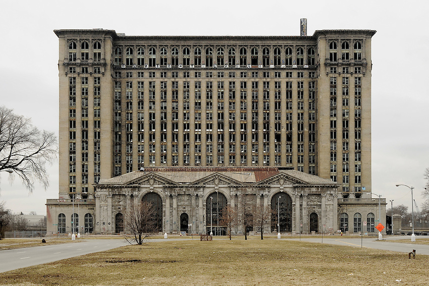 michigan central station. detroit, mi. 2008