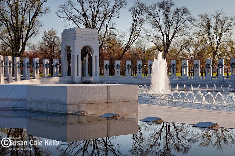 Peace at the National World War II Memorial, Washington, DC, USA
