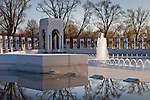 Peace at the National World War II Memorial, Washington, DC, USA