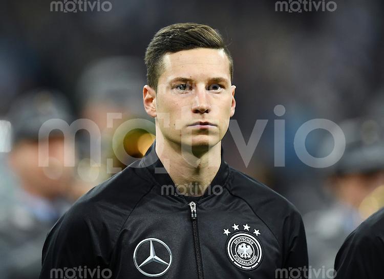 FUSSBALL INTERNATIONAL TESTSPIEL in Muenchen in der Allianz Arena Deutschland - Italien    29.03.2016  Julian Draxler (Deutschland)