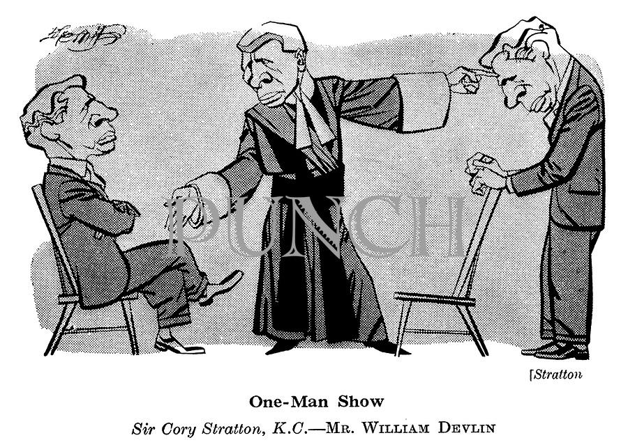 At the Play ; Mercury<br />  Theatre ; Stratton ; William Devlin