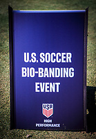 2020 U.S. Soccer Bio-Banding Event, January, 12, 2020