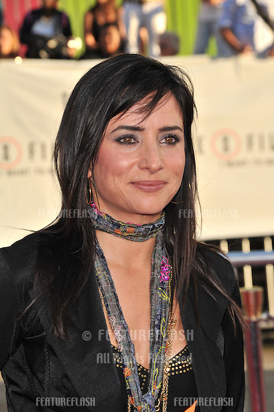 """Pamela Adlon at the world premiere of """"The X-Files: I Want To Believe"""" at Grauman's Chinese Theatre, Hollywood..July 23, 2008  Los Angeles, CA.Picture: Paul Smith / Featureflash"""