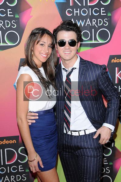 Danielle Jonas and Kevin Jonas<br /> at the Nickelodeon's 23rd Annual Kids' Choice Awards, UCLA's Pauley Pavilion, Westwood, CA 03-27-10<br /> David Edwards/DailyCeleb.com 818-249-4998