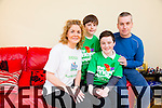 Brenda Doody, running 12 marathons in aid of the Mercy hospital. Pictured here with family son Gavin, Colin and husband  Pat