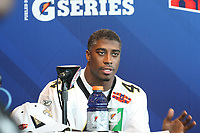 Roman Harper (Saints)<br /> Super Bowl XLIV Media Day, Sun Life Stadium *** Local Caption *** Foto ist honorarpflichtig! zzgl. gesetzl. MwSt. Auf Anfrage in hoeherer Qualitaet/Aufloesung. Belegexemplar an: Marc Schueler, Alte Weinstrasse 1, 61352 Bad Homburg, Tel. +49 (0) 151 11 65 49 88, www.gameday-mediaservices.de. Email: marc.schueler@gameday-mediaservices.de, Bankverbindung: Volksbank Bergstrasse, Kto.: 52137306, BLZ: 50890000
