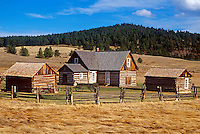 Horbek Homestead. Florissant, Colorado.
