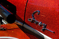 """Detail on the Sooy hydroplane """"Vagabond""""."""