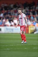 Ben Kennedy of Stevenage during Stevenage vs Cambridge United, Sky Bet EFL League 2 Football at the Lamex Stadium on 14th April 2018