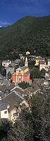 Europe/France/Corse/2B/Haute-Corse/Cap Corse/Nonza: Le village et l'église