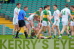 Tensions flair in the Muster Senior Semi final held in The Gaelic Grounds last Saturday evening.