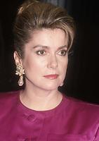 Catherine Deneuve 1988<br /> Photo By John Barrett/PHOTOlink.net / MediaPunch