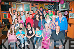 4866-4870.---------.Lookin 39.---------.Caroline Foley,Killorglin(seated centre)had great fun celebrating her 40th birthday last Friday night in the Huddle bar,Strand Rd,Tralee with her hubby Tony and sons Gavin&Ronan with many family and friends also.