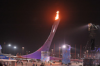 OLYMPICS: SOCHI: Olympic Park, 08-02-2014, Olympische vlam, ©foto Martin de Jong