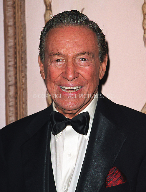 Mike Wallace at the Directors Guild of America Honors 2002 at the Waldorf-Astoria in New York City. June 9, 2002. Please byline: Alecsey Boldeskul/NY Photo Press.   ..*PAY-PER-USE*      ....NY Photo Press:  ..phone (646) 267-6913;   ..e-mail: info@nyphotopress.com
