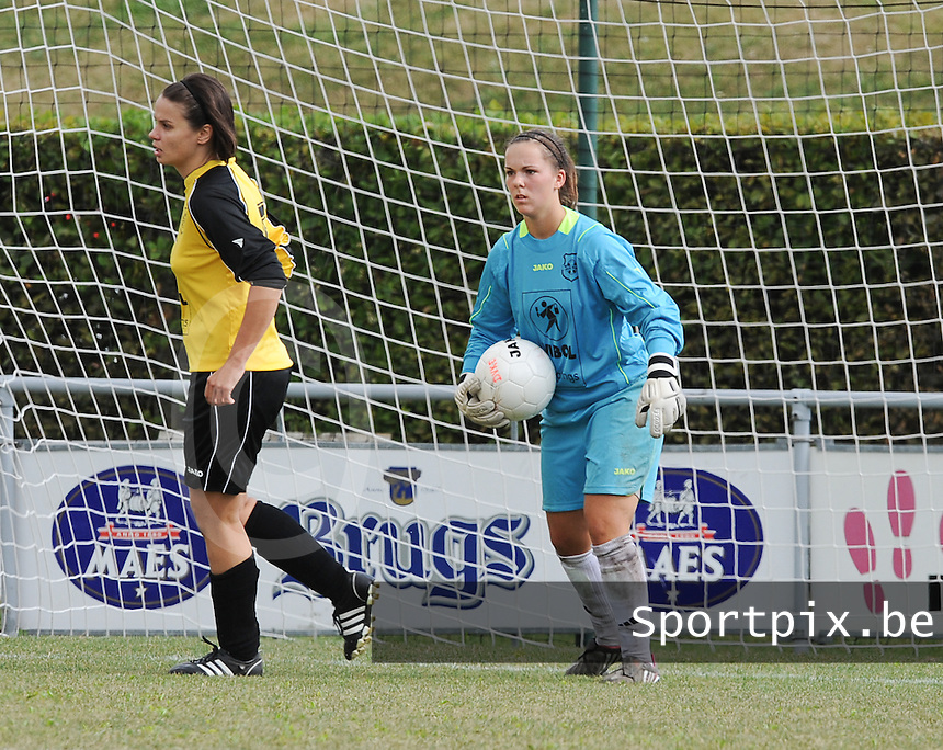 DVK Egem - RSC Anderlecht : Mallory Sablain.foto DAVID CATRY / Vrouwenteam.be