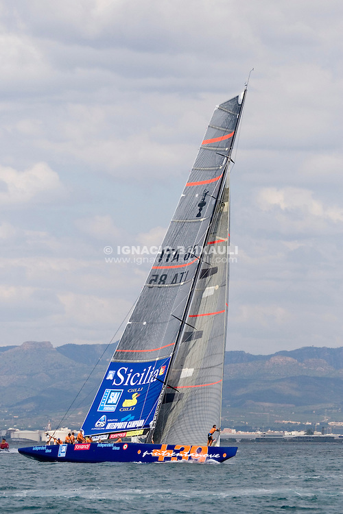 +39 Challenge -  - LOUIS VUITTON CUP - ROUND ROBIN 2 - FLIGHT 5 and 6 - 2007 may 04