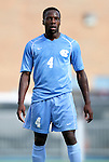 27 November 2011: North Carolina's Boyd Okwuonu. The University of North Carolina Tar Heels defeated the Indiana University Hoosiers 1-0 in overtime at Fetzer Field in Chapel Hill, North Carolina in an NCAA Men's Soccer Tournament third round game.