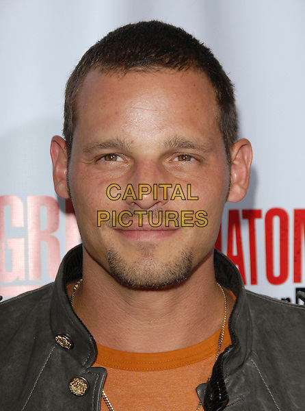 JUSTIN CHAMBERS.The Grey's Anatomy 2nd Season DVD Launch held at Social in Hollywood, California, USA..September 5th, 2006.Ref: DVS.headshot portrait goatee facial hair .www.capitalpictures.com.sales@capitalpictures.com.©Debbie VanStory/Capital Pictures