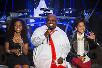 LAS VEGAS, NV - October 10:   Niki Dawson, Cee Lo Green, and Vicci Martinez pictured at CeeLo Green & Friends at Planet Hollywood Resort & Casino on October 10, 2012 in Las Vegas, Nevada.© Kabik/ Starlitepics / MediaPunch Inc. /NortePhotoAgency