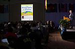 Eric Weiner speaks during International Education Week in Baker Ballroom on Nov. 16, 2017.