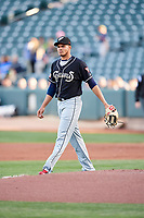 El Paso Chihuahuas starting pitcher Dinelson Lamet (24) during the game against the Salt Lake Bees in Pacific Coast League action at Smith's Ballpark on May 1, 2017 in Salt Lake City, Utah. Salt Lake defeated El Paso 9-4.  (Stephen Smith/Four Seam Images)