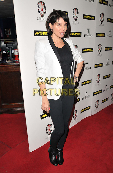 LONDON, ENGLAND - APRIL 28: Sadie Frost attends the &quot;Anti-Social&quot; UK film premiere, Cineworld Haymarket, Haymarket, on Tuesday April 28, 2015 in London, England, UK. <br /> CAP/CAN<br /> &copy;Can Nguyen/Capital Pictures