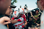 Caleb Ewan (AUS) Lotto-Soudal wins Stage 16 of the 2019 Tour de France running 177km from Nimes to Nimes, France. 23rd July 2019.<br /> Picture: ASO/Thomas Maheux | Cyclefile<br /> All photos usage must carry mandatory copyright credit (© Cyclefile | ASO/Thomas Maheux)